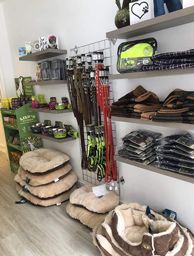 Pet Boutique In Cheam, Surrey At Scamps Professional Pet Grooming